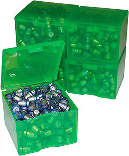 MTM CAST116 Cast Bullet Box 2pk 200/9mm Capacity Poly Clear Grn