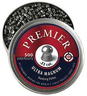 Crosman LDP22 Premier Pellets Domed .22 Silver 500 Count