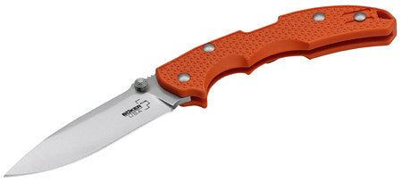 "Boker 01BO372 Plus Folder 3.75"" 154CM Stainless Drop Point Fiberglass Reinforced Nylon Orange"