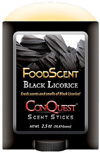 Conquest Scents 1244 Black Licrorice Scent Stick 2.5 oz