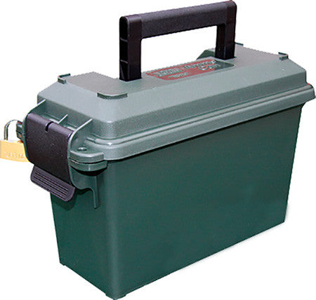 "MTM AC30T11 Ammo Can 30 Caliber 5""x11.3""x7.2"" Poly Forest Green"