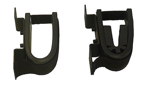 Rugged Gear 10055 Screw Mount Gun Rack Black Steel Universal