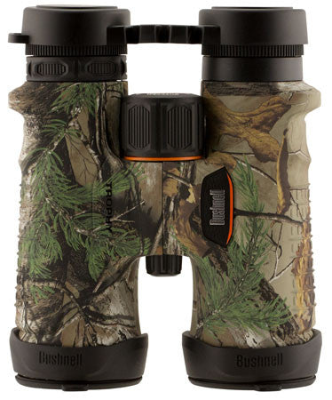 Bushnell 334209 Trophy 8x 42mm 395 ft @ 1000 yds FOV 17.5mm Eye Relief Realtree Xtra Green