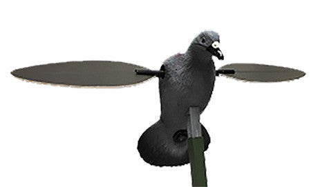 Mojo HW2410 Pigeon Decoy 4AA Motion Grey