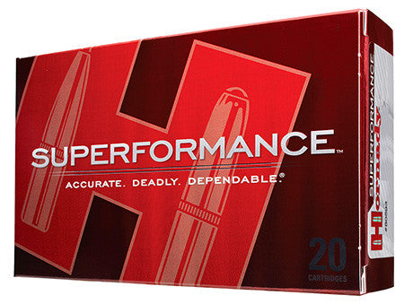 Hornady 8222 Superformance 300 Weatherby Mag 180GR Spire Point 20 Box/10 Case