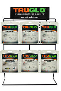 Truglo TG101P2 Universal Shotgun Sight #2 Display w/Product 23 Sights Counter Top