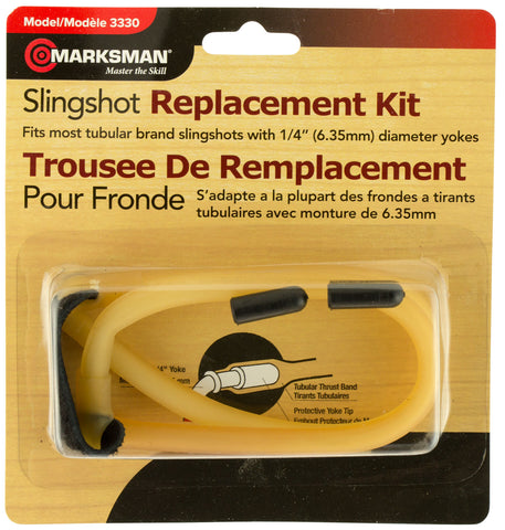 "Marksman 3330 Slingshot Replacement Band Kit 6"" x 1"" x 6"""