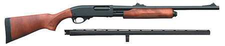 "Remington Firearms 25114 870 Express Combo Pump 12 Gauge 26""/20"" 3.5"" Wood Laminate Blued"