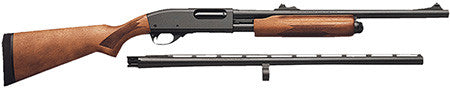 "Remington Firearms 25578 870 Express Combo Pump 12 Gauge 26""/20"" Wood Laminate Stock Blued"