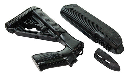 Adaptive Tactical 02000 EX Performance Stock/Forend 870 Remington Black