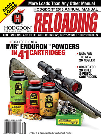 Hodgdon AM16 2016 Annual Reloading Manual