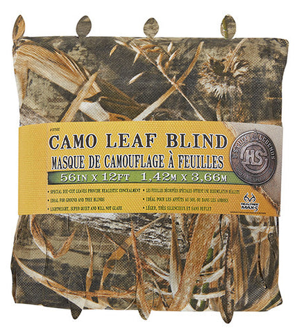 Hunters Specialties 07592 Camo Leaf Blind Material 56inx12ft Realtree Max-5