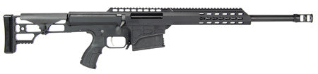 "Barrett 14800 M98B 308 Winchester 16"" 10+1 Fixed Metal Blk Stk Blk Hard Coat Anodized"