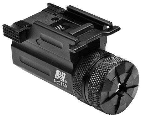 NCStar AQPTLMG Compact Green Laser w/QR Weaver Mount Compact/Subcompact Picatinny