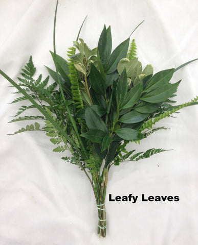 Leafy Leaves Bouquet - 15 pack