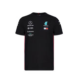 Mercedes AMG Racing 2019 Team T-shirt - Black