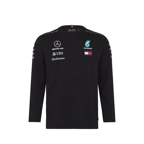 AMG Mercedes 2018 Long Sleeve Shirt - Black