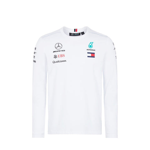 AMG Mercedes 2018 Long Sleeve Shirt - White