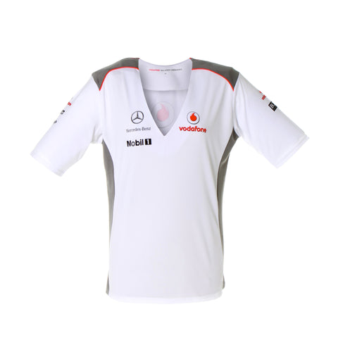 Vodafone McLaren Mercedes 2012 Team T-shirt - Ladies