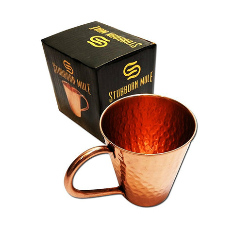 tapered moscow mule mug copper