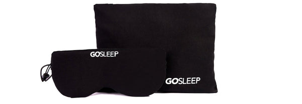 GoSleep Eye Mask Pillow Travel Kit