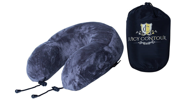 Juicy Contour Foam Travel Pillow