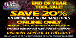 END OF THE YEAR SALE : ULTRA INDIVIDUAL HAND TOOLS