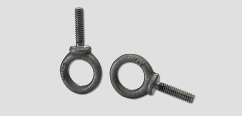 410-6020:  Forged Steel Eyebolt For Super & Heavy Duty Tabs