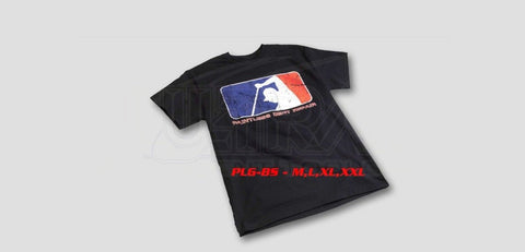 Pdr Life Gear Distressed:  Black T-Shirt Apparel