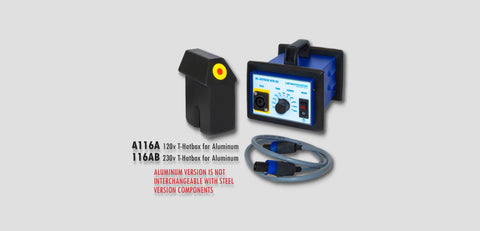 A116Ab:  230V T-Hotbox Aluminum Heat Induction Dent Removal System Lighting & Electrical