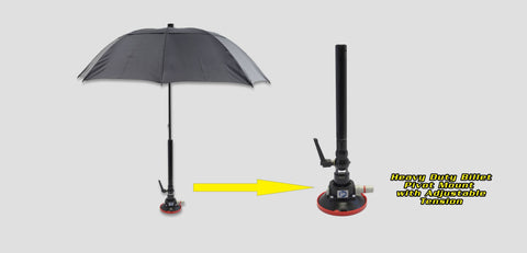 A117 - 42 Ultra Pdr Shade Fiberglass Umbrella With Billet Pivot Mount Lighting & Electrical