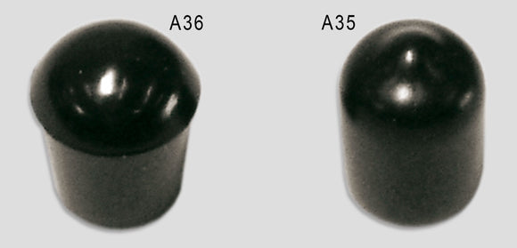 A36 - Softtip Rubber Push-On Cap 1/4 Accessories