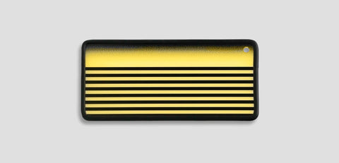 A3Gbfsy - Yellow Ghost Fade Striped Translucent Reflection Board Lighting & Electrical