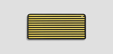 A3Gbsy - Yellow Ghost Striped Translucent Reflection Board Lighting & Electrical