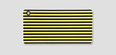 A3Hcsy - Pvc Hive Reflector Board Yellow W/black Stripes 6X12 Lighting & Electrical