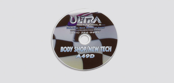 A49D - Body Shop Training Video 30 Min Dvd Videos And Software