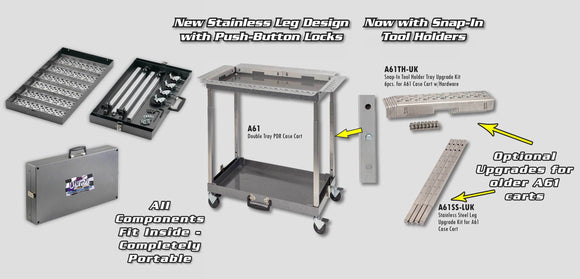 A61 - Ultra Pdr Case Cart Folds Into Suitcase Hood Racks And Carts
