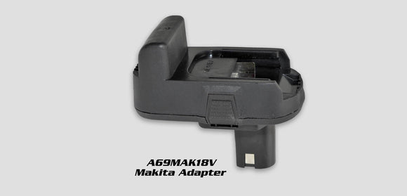 A69Mak-18V:  Makita Battery Adapter For A69Pro260-185C