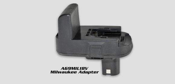 A69Mil-18V:  Milwaukee Battery Adapter For A69Pro260-185C