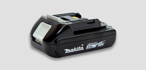 Bl1820B:  Makita 18V 2.0Ah Lithium Ion Battery Lighting & Electrical