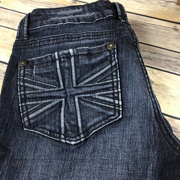 Makers of True Originals Womens Jeans Boot Cut Size 29- SS15
