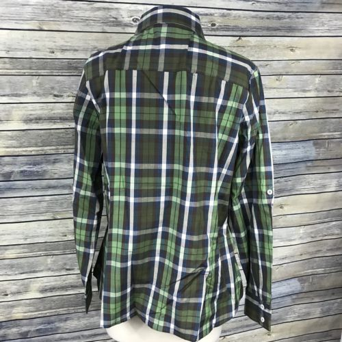 Size 2XLarge Jules Green Checkered Button Down Shirt Brand New With Tags