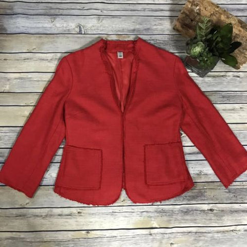 Size small Old navy Red blazer or jacket career wear- AM06