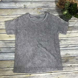 COS collection of Style grey Shirt short sleeve 100% Cotton AM10
