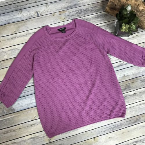 Medium Haggar Clothing petite knit sweater 50% cotton AM11