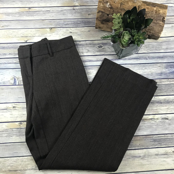 Jacob Womens Dress Pants Brown Size 3/4 Small Lane Wool Blend TT07
