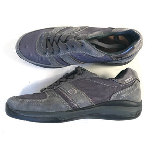 Swisseis Womens Grey Running Shoes Lace up Size 36- AH19