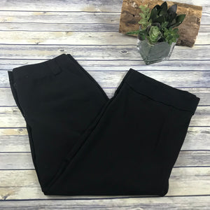 Dalia Womens Black Dress Pants (Length Altered) Size 10 Medium  SS29
