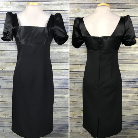 Alex Perry Womens Dress Knee Length Black Cocktail NWT Size 12 - Large II32