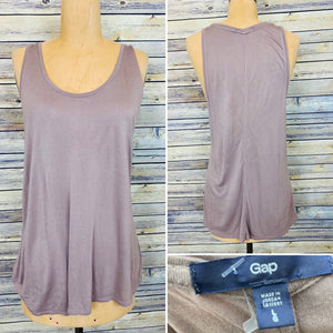 Gap Brown Sleeveless Top Size large